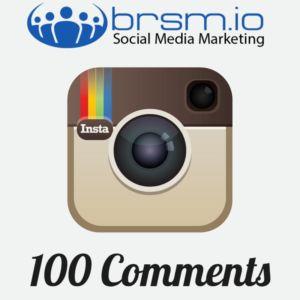 buy 100 instagram comments