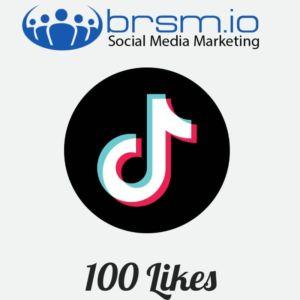 100 tiktok likes