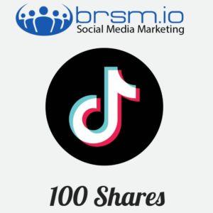 100 tiktok shares