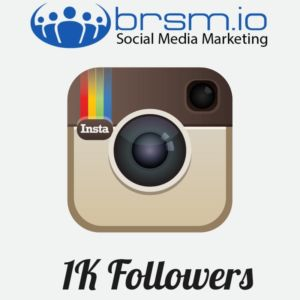 organic Instagram followers with BRSM.IO