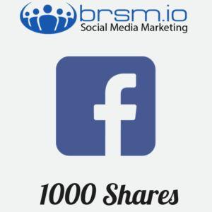 1000 facebook shares