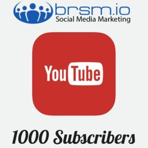 buy real Youtube subscribers with BRSM