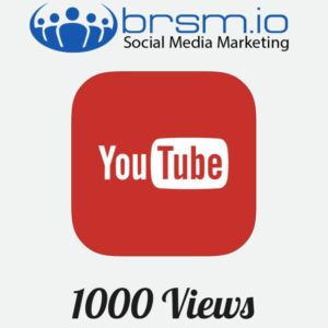 real youtube views with BRSM