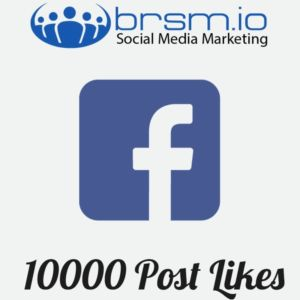 10000 faceook post likes