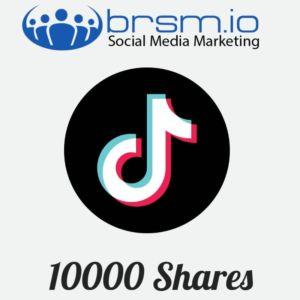 10000 tiktok shares