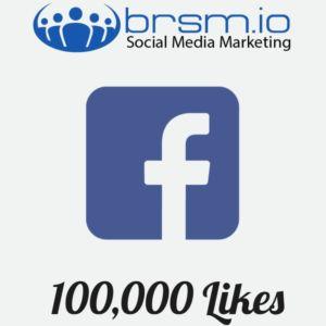 100000 Facebook Likes