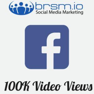 100000 facebook video views