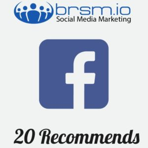 20 facebook recommendations