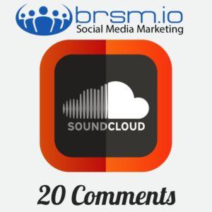 20 soundcloud comments
