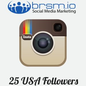 USA Instagram followers with BRSM