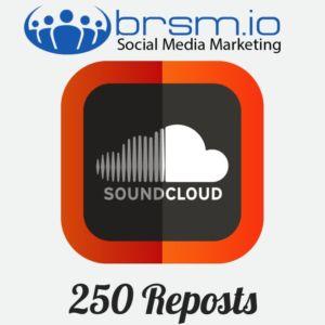 250 soundcloud reposts