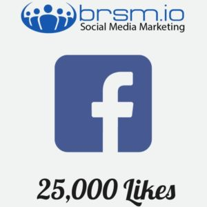 organic Facebook likes with BRSM