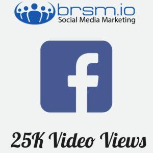 25000 facebook video views