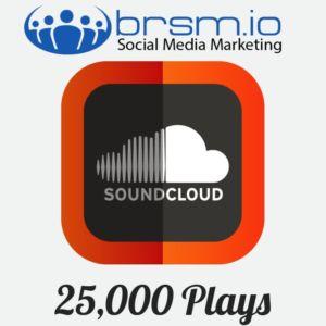 25000 soundcloud plays