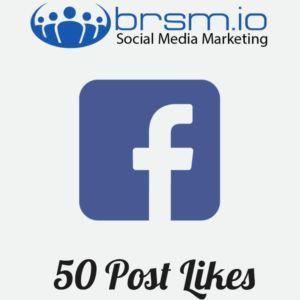 50 facebook post likes