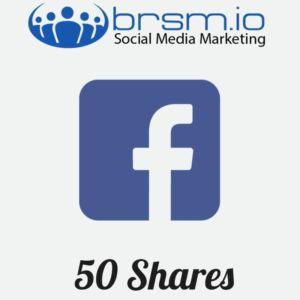 50 facebook shares