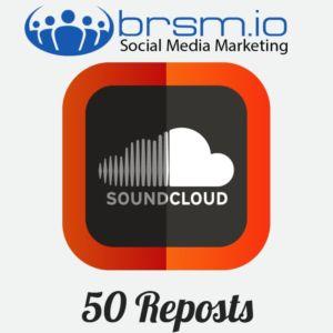 50 soundcloud reposts