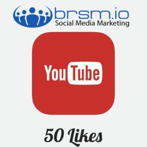 50 YouTube likes
