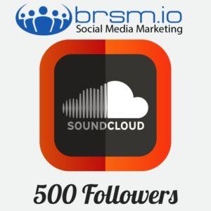 500 soundcloud followwers