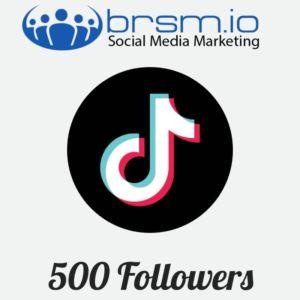 500 tiktok followers