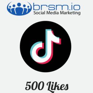 500 tiktok likes