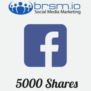 5000 facebook post shares