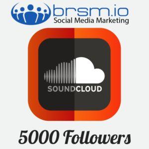 5000 soundcloud followers