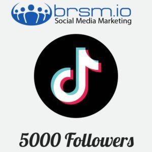 5000 tiktok followers