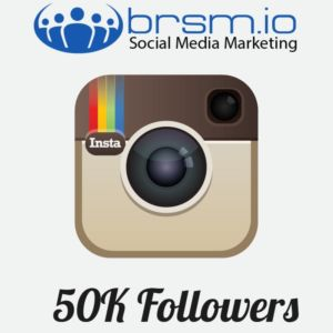 50000 instagam followers