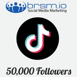 50000 tiktok followers