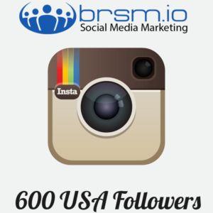 600 usa instagram followers