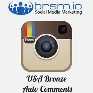 USA bronze auto comments